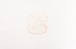 """Fundamental Rat"" Intaglio print on tracing paper. 2004"