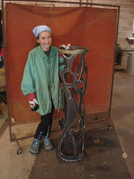 Plasma Cut Sculpture, 2011