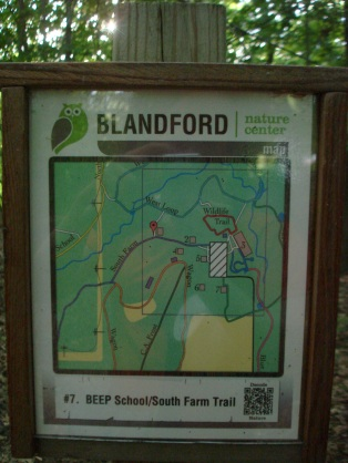 Branford Nature Center map