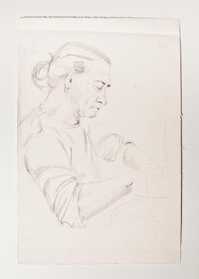 """""""Donna"""" Graphite on paper. 2006"""